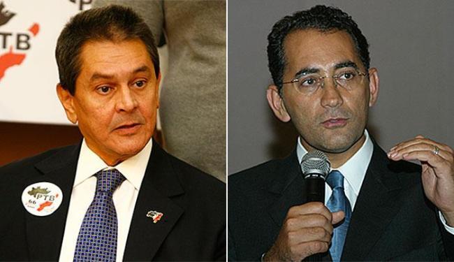 Roberto Jefferson (PTB-RJ) e João Paulo Cunha (PT-SP) cumprem pena em regime semiaberto - Foto: Mila Cordeiro e Carlos Santana | Ag. A TARDE