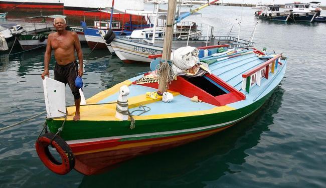 Mestre Carlinhos respira a brisa do mar no 'É da Vida' - Foto: Luciano da Matta | Ag. A TARDE