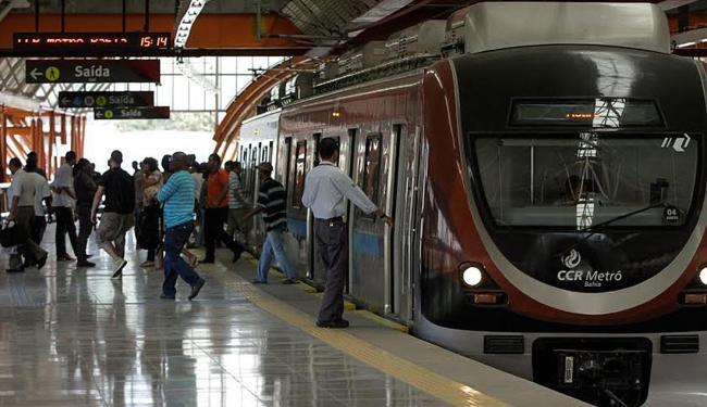 Passageiros devem ficar atentos às alterações nos sábados de janeiro, fevereiro e março - Foto: Divulgação | CCR Metrô Bahia