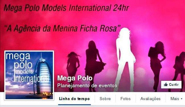 Agência recruta garotas para eventos privados - Foto: Reprodução | Facebook