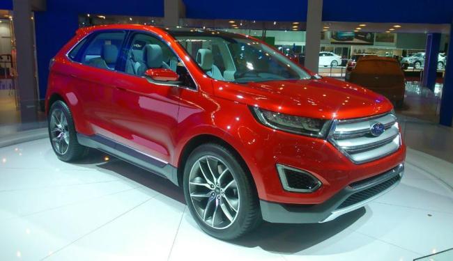 No ano passado, a Ford apresentou o Edge Concept - Foto: Roberto Nunes / Ag. A Tarde