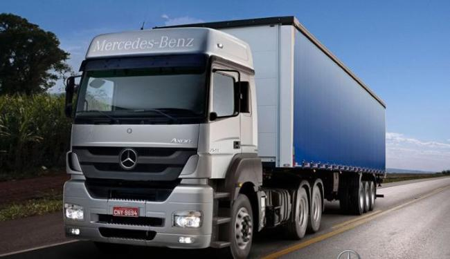 Mercedes-Benz Actros 2546 - Foto: Divulgação