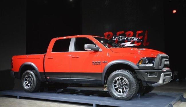 Dodge Ram 1500 Rebel - Foto: Roberto Nunes / Ag. A TARDE
