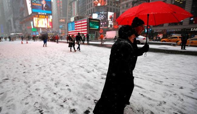 Foi declarado estado de emergência para a cidade de Nova York e o seu entorno - Foto: Agência Reuters