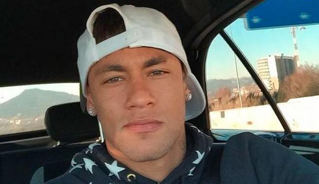 Neymar apareceu sem a barba descolorida e agradou os fãs - Foto: Reprodução | Instagram