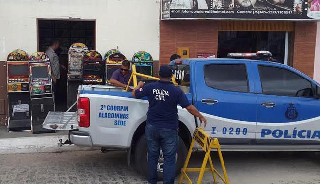 Estabelecimento onde os jogos aconteciam funcionava de forma clandestina - Foto: Divulgação | Polícia Civil