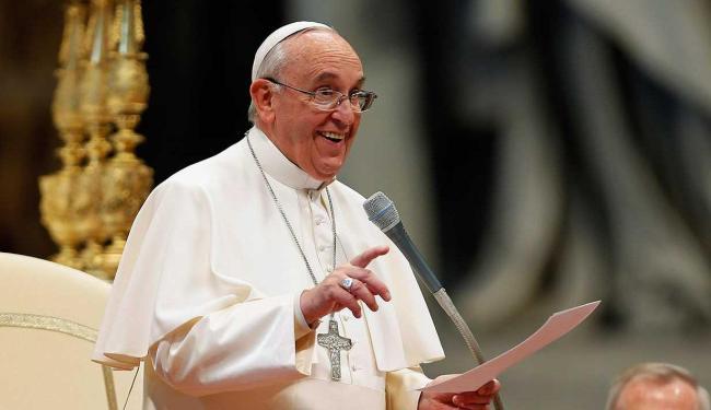 Papa enviou vídeo para cariocas e brasileiros - Foto: Giampiero Sposito | Reuters