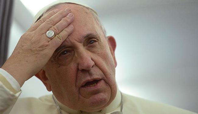 Pontífice diz que liberdade de imprensa é tão importante quanto escolha religiosa - Foto: Filippo Monteforte l Reuters