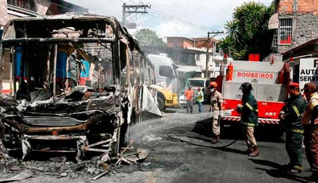 A Polícia Militar (PM) faz a segurança do bairro neste sábado, 24 - Foto: Luciano da Matta | Ag. A TARDE
