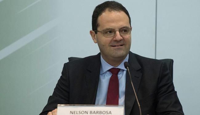 Nelson Barbosa recebeu o cargo de sua antecessora, Miriam Belchior - Foto: Marcelo Camargo   Agência Brasil