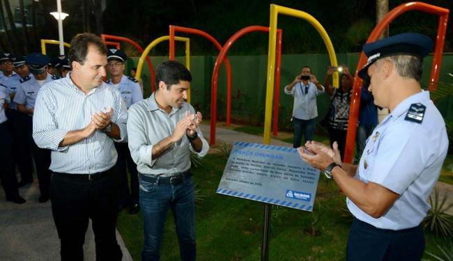 O novo espaço público de lazer conta com uma área de cerca de 3 mil metros quadrados - Foto: Divulgação/Agecom