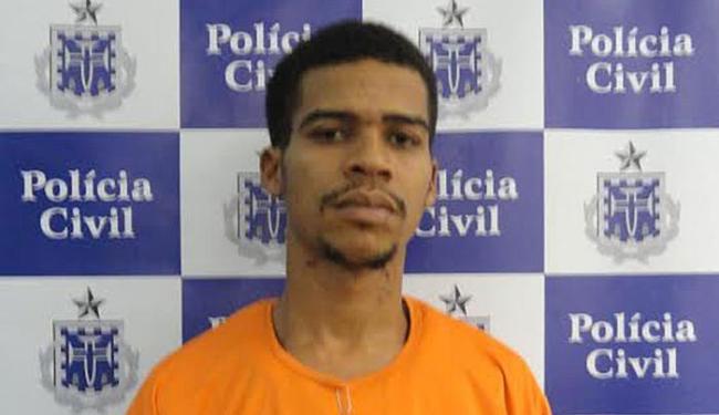 Leandro já havia sido preso em 2013 também por porte ilegal de arma além de tráfico de drogas - Foto: Divulgação | Polícia Civil