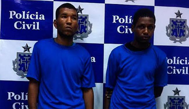Dupla foi apresentada pela polícia nesta terça-feira, 20 - Foto: Divulgação | Polícia Civil