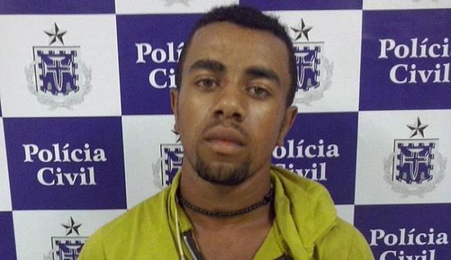 Pedro foi autuado por roubo e porte ilegal de arma de fogo - Foto: Divulgação   Polícia Civil