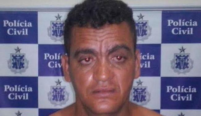 Ronivaldo já tem diversas passagens pela polícia por envolvimento com tráfico de drogas - Foto: Divulgação   Polícia Civil