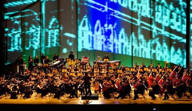 Orquestra Neojiba é uma das atrações deste domingo - Foto: Tatiana Golsman | Divulgação