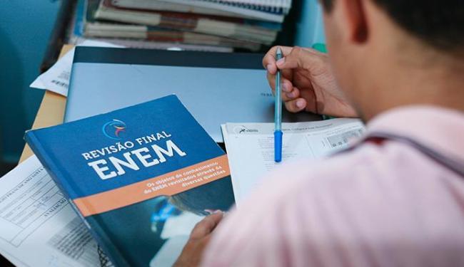O aluno terá acesso ao Sisu com as notas do Enem - Foto: Joá Souza/ Ag. A TARDE