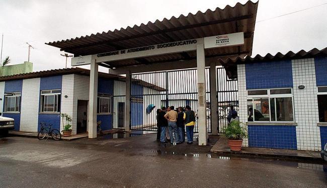 Grupo fugiu após uma atividade sócio-educativa dentro da própria unidade - Foto: Arestides Baptista | Ag. A TARDE