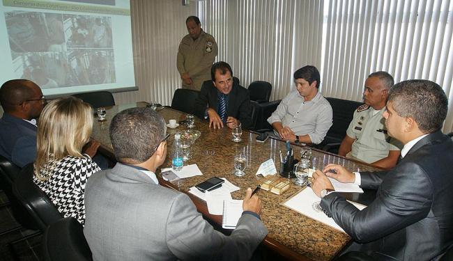 Reunião tratou da melhoria da segurança no transporte público - Foto: Divulgação