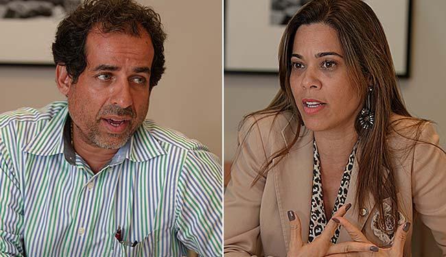 Ricardo Machado quer tirar entidade das mãos de Maria Quitéria, que tenta reeleição - Foto: Margarida Neide | Ag. A TARDE