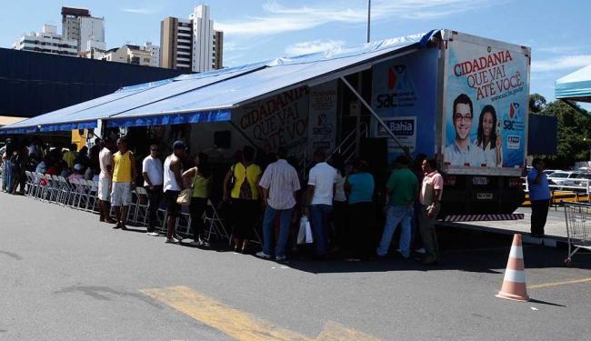 Carretas vão disponibilizar serviços no bairro do Bonfim e na cidade da RMS - Foto: Edilson Lima | Ag. A TARDE