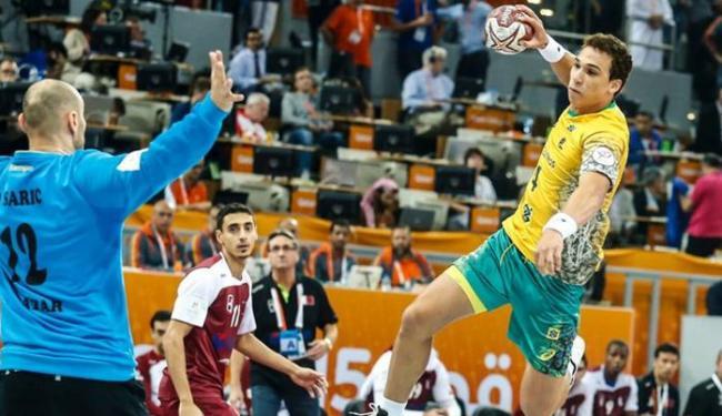 A equipe do Catar venceu por por 28 a 23 - Foto: Divulgação | CBHb
