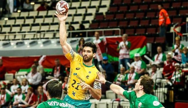 Seleção venceu por um placar apertado de 34 a 29 - Foto: Reprodução | Facebook