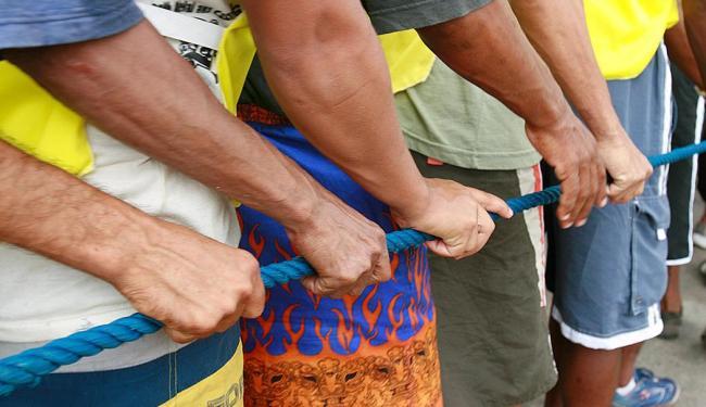 Função de cordeiro oferece 1.100 vagas para o período do carnaval 2015 - Foto: Haroldo Abrantes   Ag. A TARDE