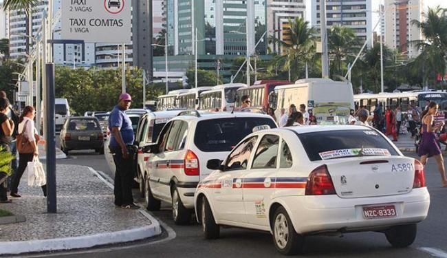 Período para alteração no taxímetro vai até o dia 14 de fevereiro - Foto: Lucio Távora | Ag. A TARDE