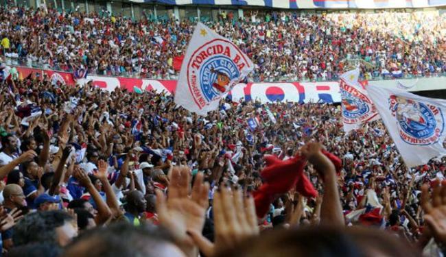 O Tricolor cumprirá a pena de jogar uma partida com portões fechados na Série B - Foto: Divulgação   E.C.Bahia