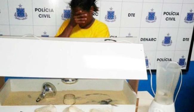 Droga encontrada é avaliada em mais de R$ 100 mil - Foto: Reprodução: Aldo Matos / Site Acorda Cidade