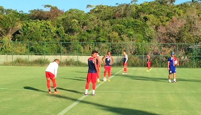 Jogadores encerraram a preparação no litoral norte - Foto: Divulgação | E.C.Bahia