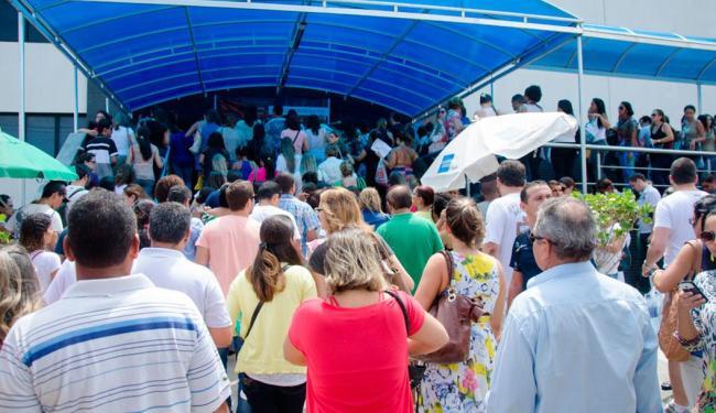 O concurso teve mais de 134 mil candidatos inscritos - Foto: Divulgação