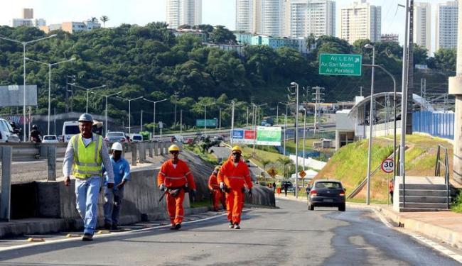 Intervenção permite acesso à Paralela sem passar pelo Iguatemi - Foto: Mateus Pereira | Secom