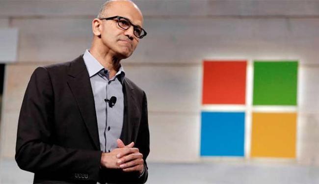Satya Nadella falou sobre o novo sistema operacional da Microsoft - Foto: Agência Reuters