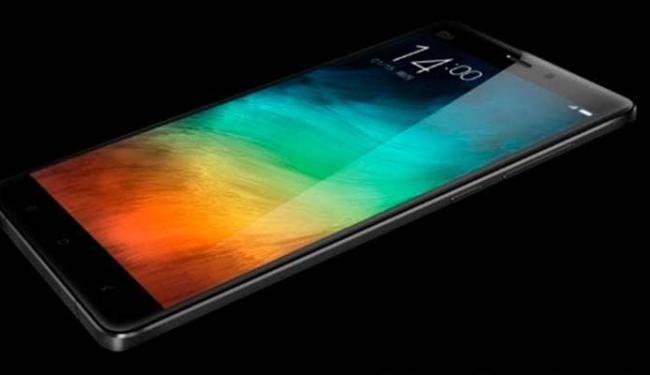 A fabricante chinesa Xiaomi apresentou nesta quinta-feira o smartphone Mi Note - Foto: Divulgação