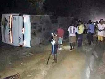 As vítimas tiveram apenas ferimentos leves - Foto: Reprodução: Giro Ipiaú