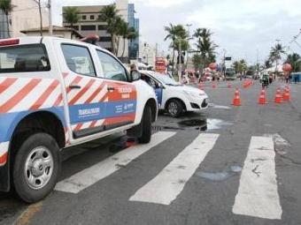 Áreas próximas aos circuitos já estão com tráfego livre - Foto: Divulgação | Transalvador
