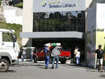 Hospital administrado pela Hapvida - Foto: Luciano da Matta | Ag. A TARDE | 28.01.2014