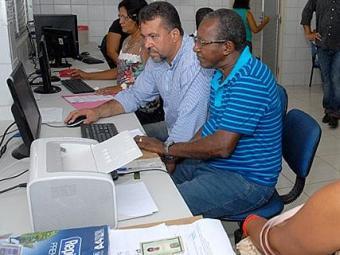 Período de matrículas da rede pública estadual de ensino começou na manhã desta terça - Foto: Clauidonor Jr. Ascom l Educação