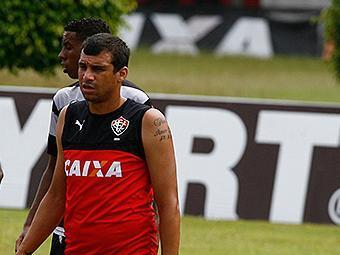 Neto Baiano diz que quer ser artilheiro pelo Vitória - Foto: Fernando Amorim   Ag. A TARDE