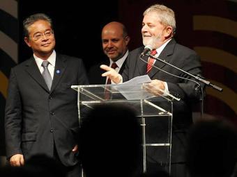 Okamotto, à esquerda, é sócio do ex-presidente Lula - Foto: Arquivo | Roosewelt Pinheiro | ABr