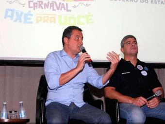 Governador e secretário de Segurança Pública elogiaram atuação da polícia no Carnaval - Foto: Manu Dias | GOVBA