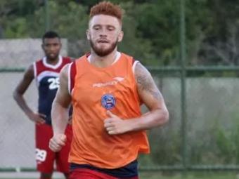 O jogador treina no Fazendão desde meados de janeiro - Foto: Divulgação | E.C.Bahia