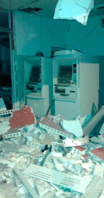 A estrutura do local ficou completamente destruída - Foto: Reprodução: Site Criativa Online