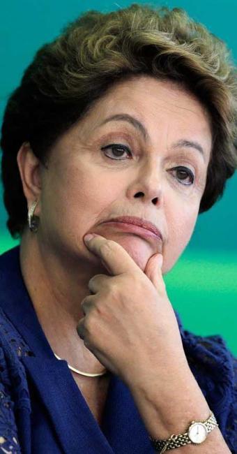 Dilma obteve a primeira nota vermelha (4,8) após quatro anos no governo - Foto: REUTERS/Joedson Alves