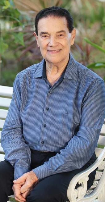 Aos 87 anos, o líder espírita já psicografou mais de 300 livros - Foto: Lúcio Távora | Ag. A TARDE