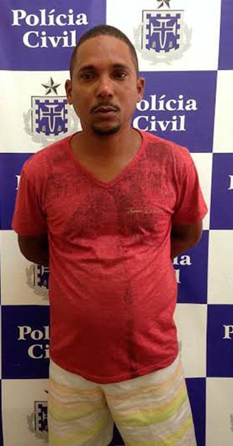 Gledson foi preso na quarta, 11, e apresentado pela polícia à imprensa nesta sexta, 13 - Foto: Divulgação | Polícia Civil