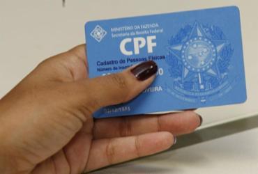Contribuinte pode atualizar CPF pela internet a partir desta segunda