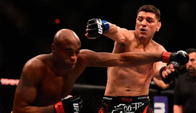 Além de Anderson, Nick Diaz também foi flagrado no exame - Foto: Divulgação | UFC